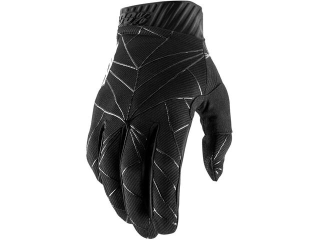 100% Ridefit FA18 Handschoenen, black/white